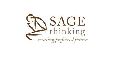 Sage Logo Byline Brown White Big